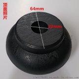 廠家供應沙髮腳 傢俱腳 木紋黑色沙髮腳 塑料