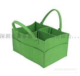 毛氈儲物袋儲物箱收納箱收納袋