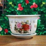 陶瓷手绘花盆花钵 室内室外装饰盆栽用具 批发定制