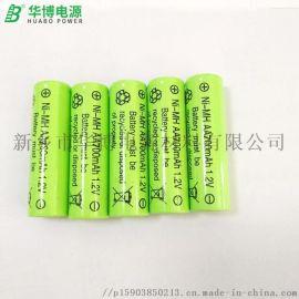 5号充电电池AA700MAH镍氢五号电池1.2v