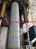 炮筒管道+炮筒可拆卸式節能設備保溫套
