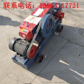 圆钢螺纹钢切断机 现货供应钢筋下料机