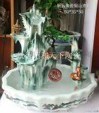 陶瓷风水球流水装饰摆件