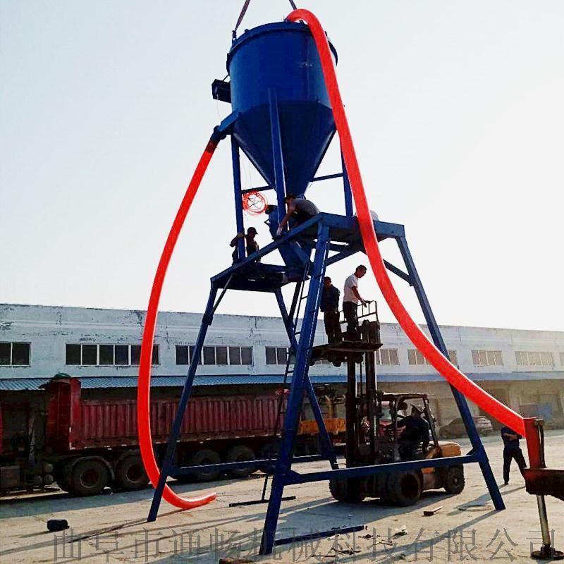 矿粉卸车负压吸料机 环保气力输送机 风力抽灰机