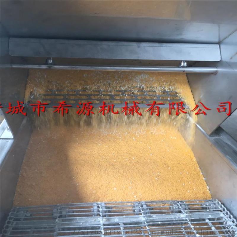 连续式脆皮年糕裹糠机 600型米糕上糠机生产厂家