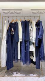 可妮尔个性大方女装品牌折扣厂家直供货源打包走份