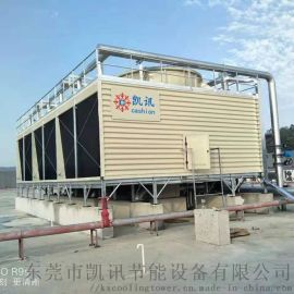 西安横流式方形冷却塔   空调冷却塔