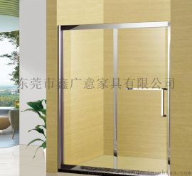 鑫广意不锈钢卫生间门选材厚道强度高不变形不生锈