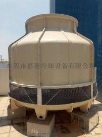 60T工业冷却塔-东莞高强度逆流圆形冷却塔直销