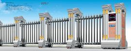 江门电动伸缩门,江门伸缩门厂家,江门工厂电动门安装