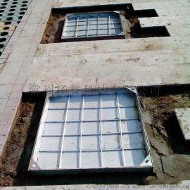 304景观隐形井盖 常州晶熠定制井盖 方形井盖