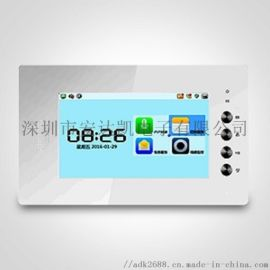大屏手机对讲 单元门网络视频对讲 手机对讲图片