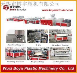 **PVC发泡板墙板生产线设备机器厂家