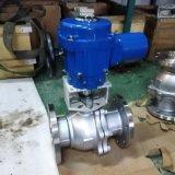 厂家供应Q941F46-16C衬氟电动球阀