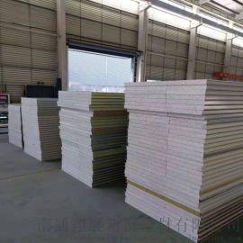 硅岩防火彩钢夹芯板生产商 南通翔展