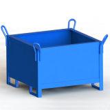 废料箱 垃圾箱 钢制料箱 金属周转箱