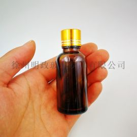 茶色精油瓶避光瓶密封瓶酒精瓶储存瓶玻璃瓶