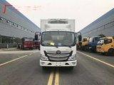 福田欧马可S1国六蓝牌冷藏车价格和图片