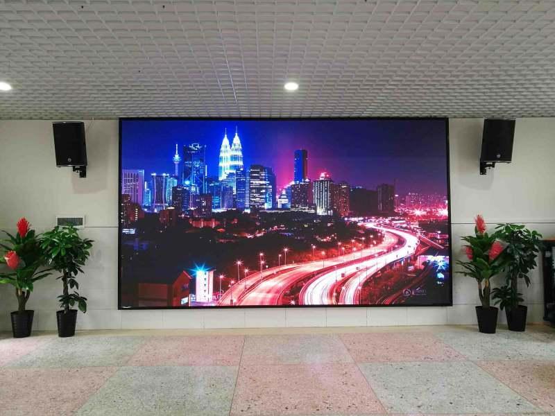 展厅大型LED幕墙,背景墙P2.**屏幕电视