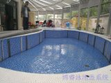 全自動升降游泳池蓋 電動泳池蓋 泳池保溫蓋 安全蓋 防腐木蓋板