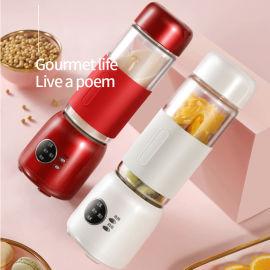 迷你豆浆机全自动加热小型料理免滤果汁米糊烧水