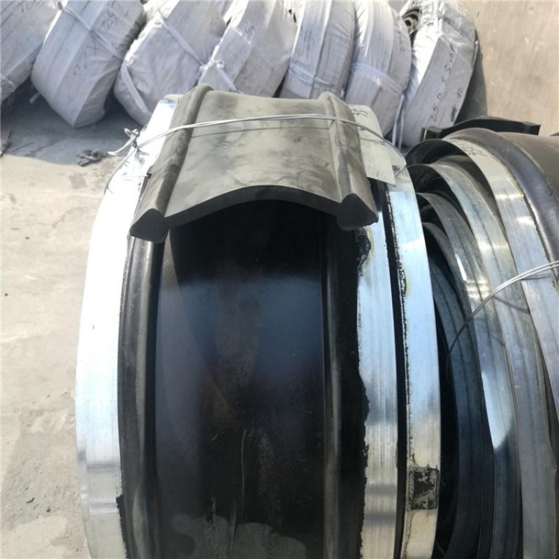 中埋式钢边橡胶止水带背贴外贴式止水带丁基钢板腻子
