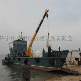 上海码头液压装卸起重机 船用多功能固定式船吊