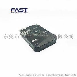 厂家机定制3c配件耳铁盒 马口铁耳机盒