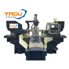 YG-700NC数控强力型双侧铣床 铣床 数控铣床 双面铣床 双头铣床 平面铣床