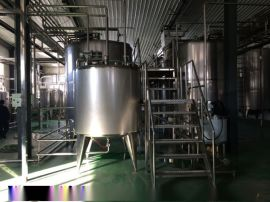 (定制款)小型饮料加工设备|谷物粗粮饮料生产线|全自动饮料加工流水线