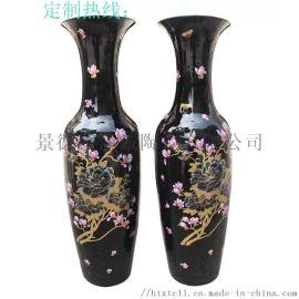 **青花瓷花瓶 青花1.8米大花瓶