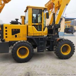 小型爬坡装载机 农用四驱铲车 建筑工程越野铲车