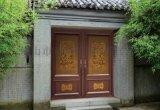 定制实木别墅大门庭院门中式大门对开仿古大门木大门