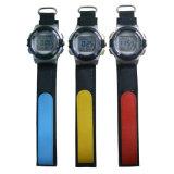 深圳手表工廠定制新款編織帶多功能學生電子運動手表