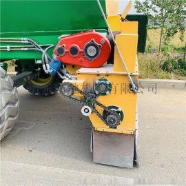 路面铺灰机 牵引式石灰铺灰机 大容量路面石灰撒布机