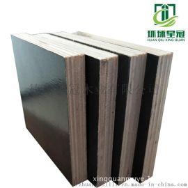 邯郸工地建筑多层板桥梁木模板不变形星冠木业