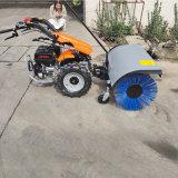 手推式扫雪机 小型抛雪机 多功能滚刷扫雪车清雪机