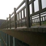 山東仿木欄杆 混凝土欄杆 仿木護欄廠家
