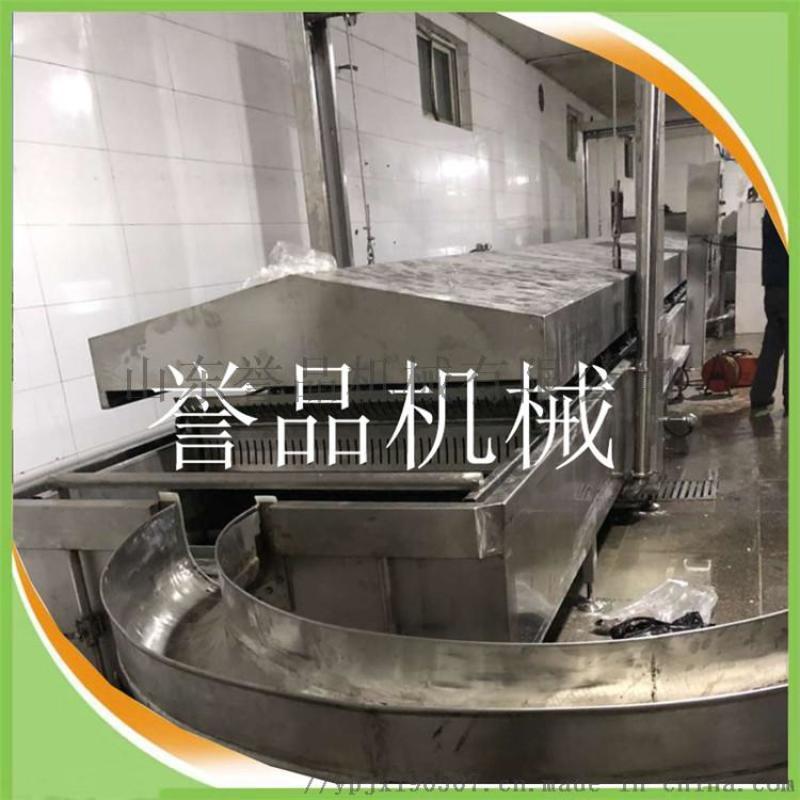 肉丸蒸煮流水線-丸子水煮成型設備-連續漂燙冷卻生產