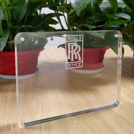 工厂定做 亚克力透明相框 双层 磁铁