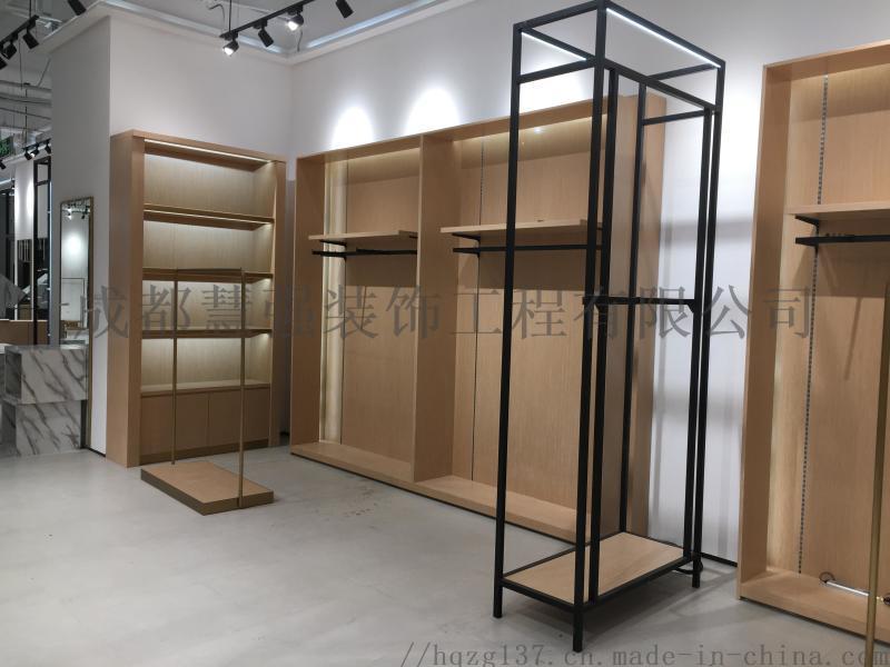 服裝展示櫃定製廠家,優先慧強展櫃廠