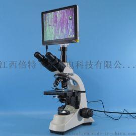 S500T-600A型 一体式三目生物显微镜