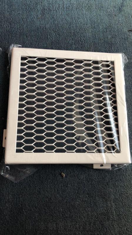 多邊形金屬拉紳網板 鋁合金拉網鋁單板 網格鋁板吊頂