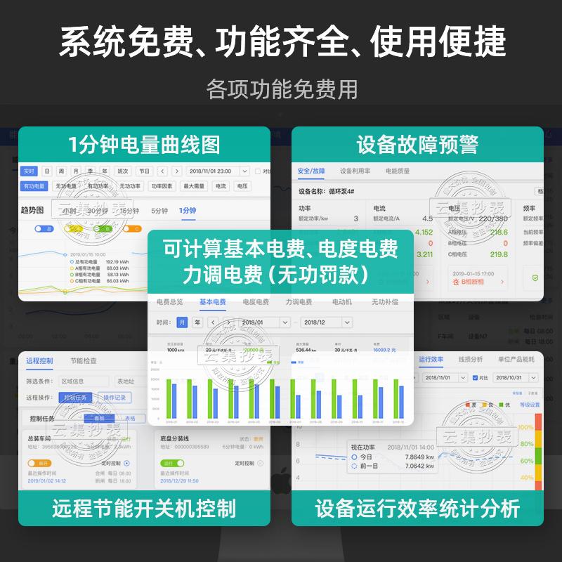 江苏林洋DTZ71三相四线智能电能表0.2S级
