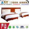 18001公寓床 环保油漆 胡桃木贴面 广东制造