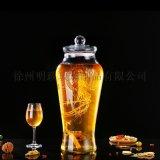 泡酒罈玻璃瓶家用酒罈密封酒楊梅酒罈藥酒罐