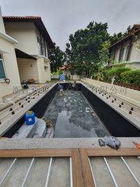丰都县瓷砖垫高器室内外景观