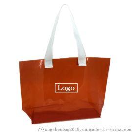 PVC透明大号购物袋 广东东莞永燊手袋购物袋