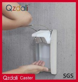 医院用壁挂式不锈钢肘压皂液器洗手器肘压