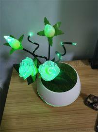 新款個性智慧燈飾元特幻寶花飾香薰燈創意浪漫擺件